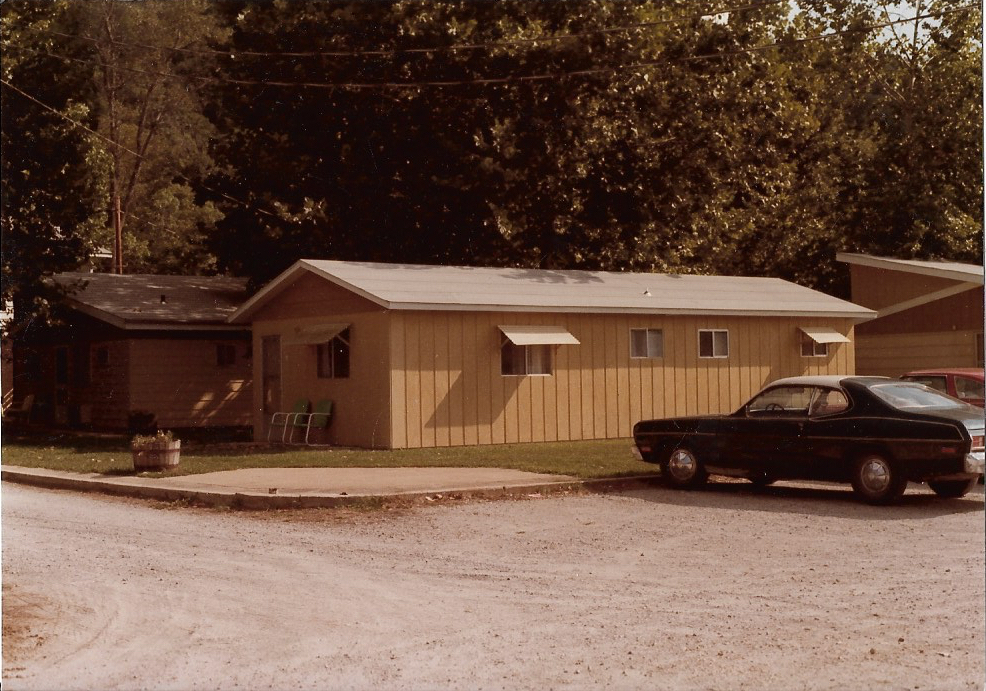 Roadside unit #1 in 1983