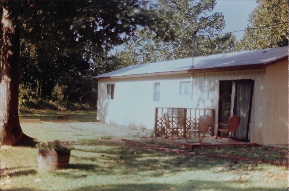 Unit #13 in 1984 when we added the first lakefront deck.