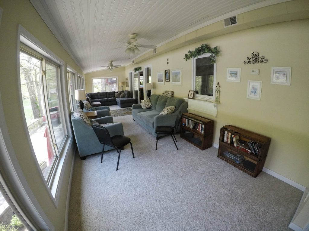 Unit #27 Sunroom