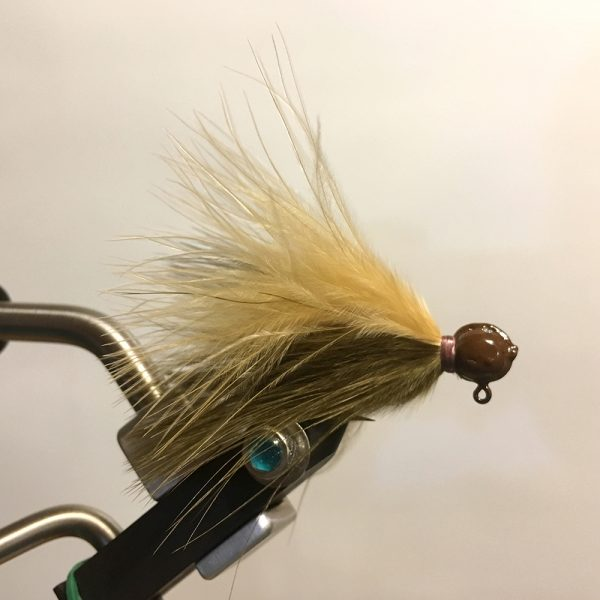 Sculpin Ginger Marabou Jig