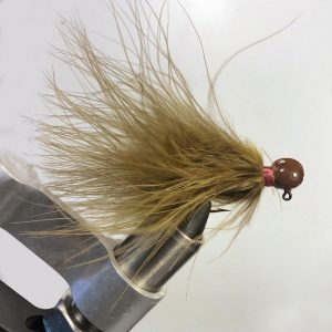 Lilley's Sculpin, Brown Head Marabou Jig