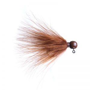 Lilley's Brown, Brown Head Marabou Jig