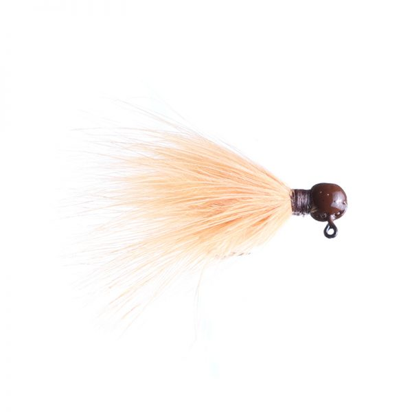 1/32oz peach - brown head