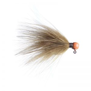 Lilley's Sculpin, Orange Head Marabou Jig