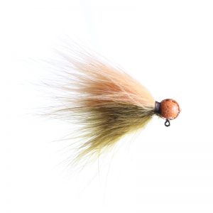 Lilley's Sculpin/Peach, Orange Head Marabou Jig
