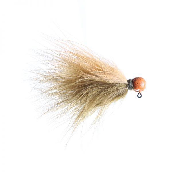 3/32oz sculpin/ginger - orange head