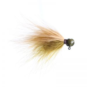 Lilley's Scuplin/peach, Sculpin Head Marabou Jig