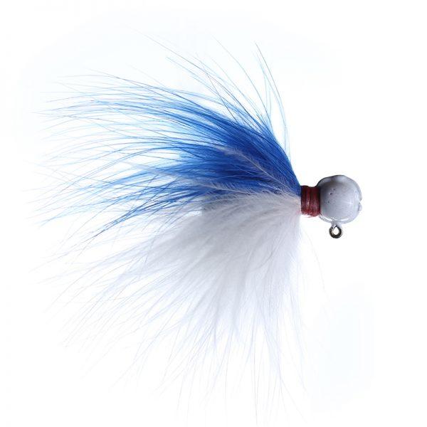 1/8 blue/white white head