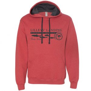 Trout Run Hoodie – Brick Heather