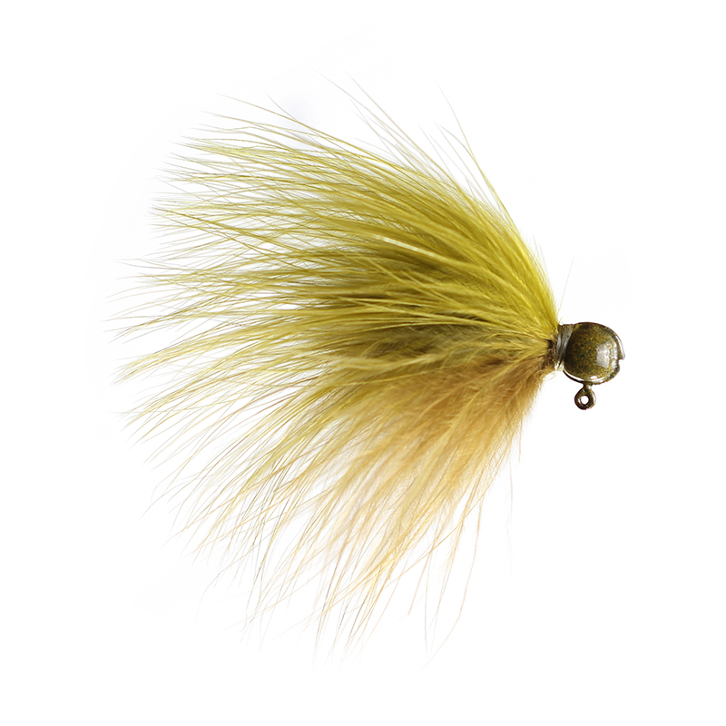 Lilley's Tri-Sculpin/Olive Light Marabou Jig
