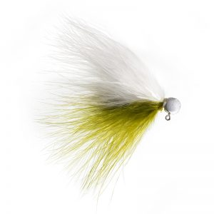 Lilley's Olive/White with White Head