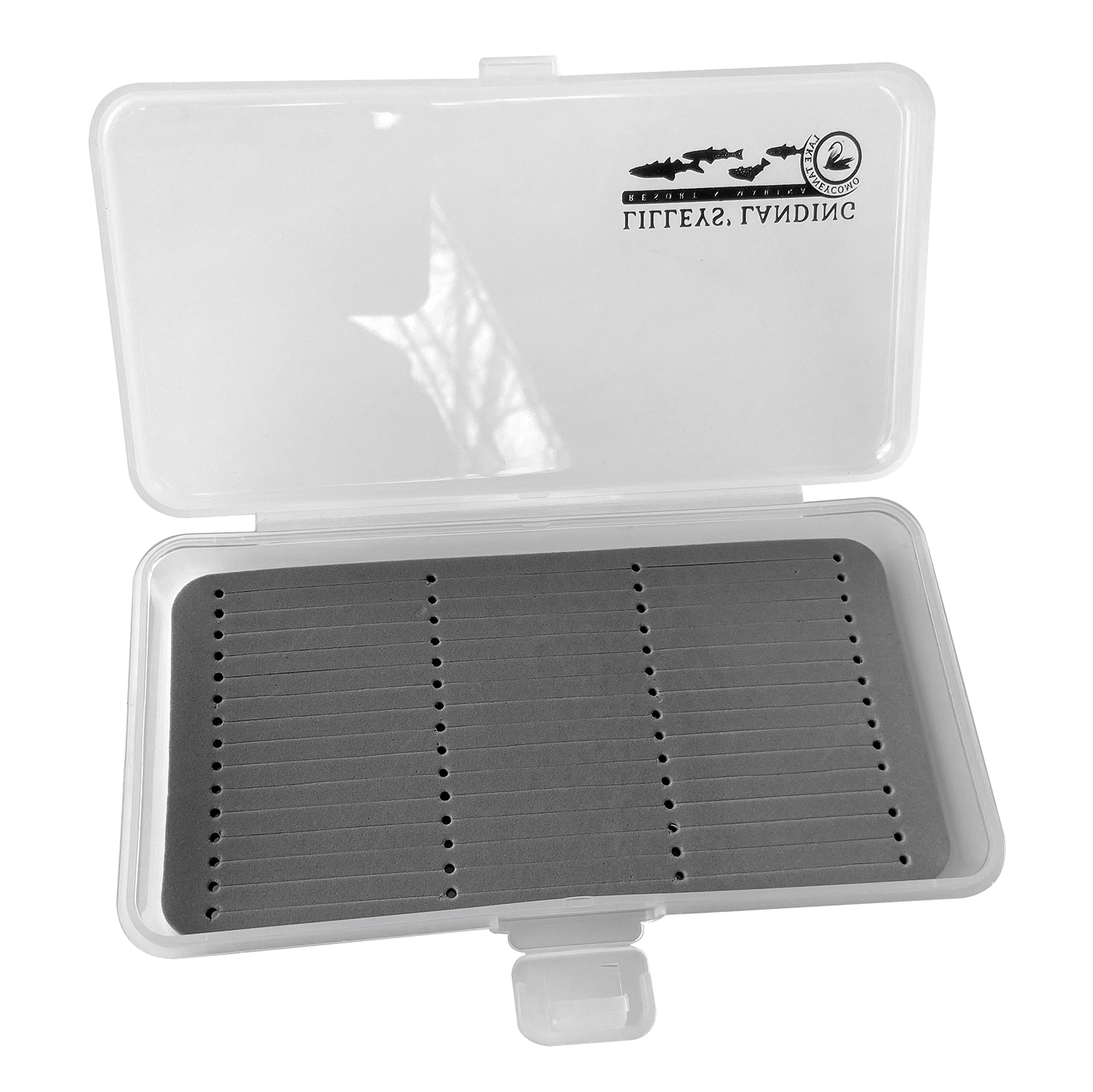 Fly Box with Slot Foam