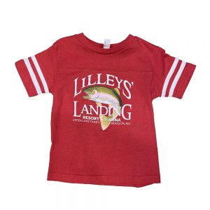 Toddler Football Tee – Red