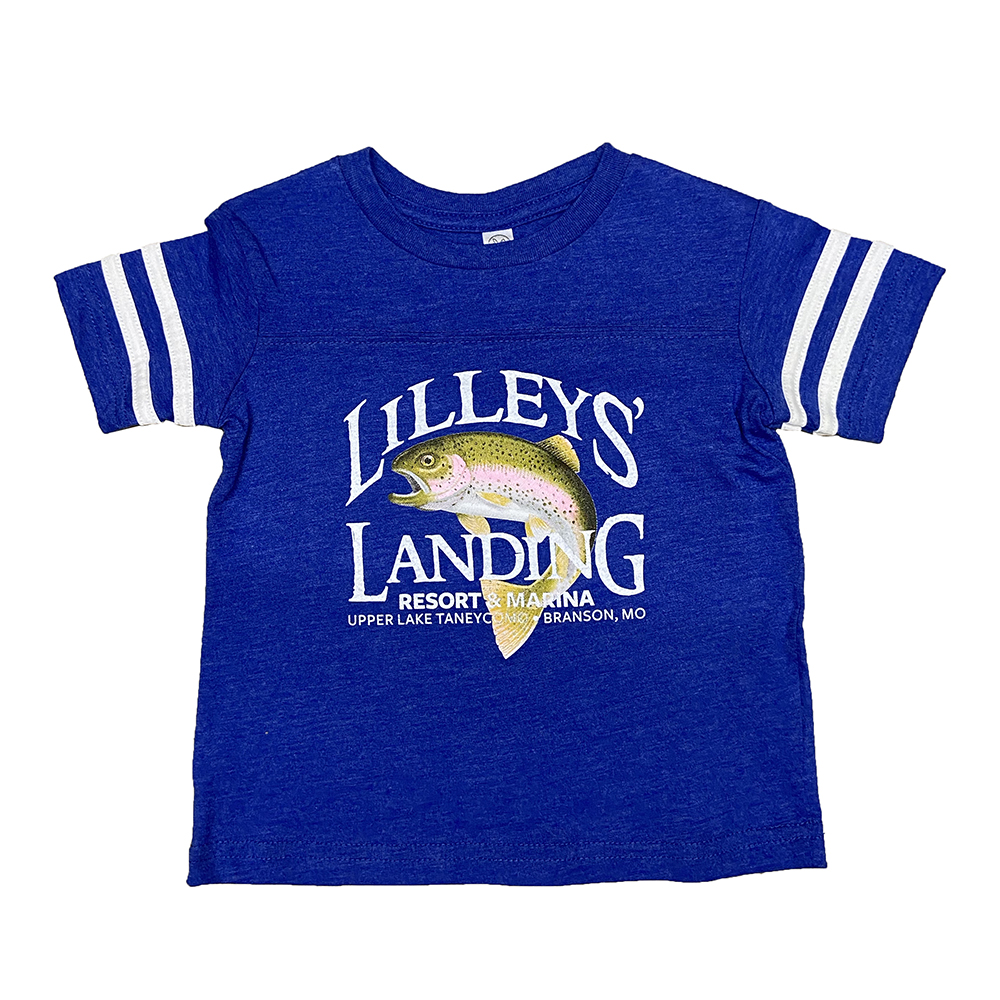Toddler Football Tee – Royal