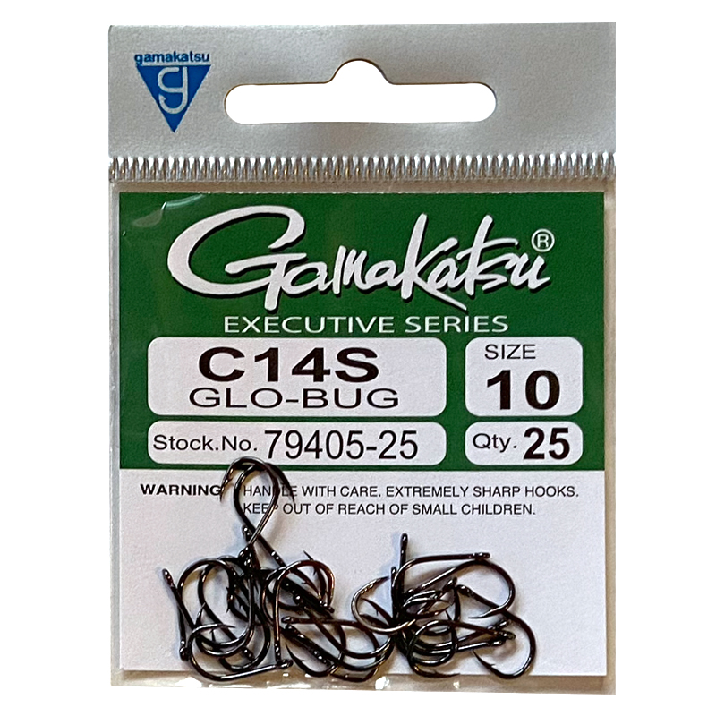 Gamakatsu C14S Glo Bug – 25ct.