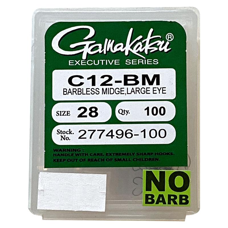 Gamakatsu C12-BM – 100ct.