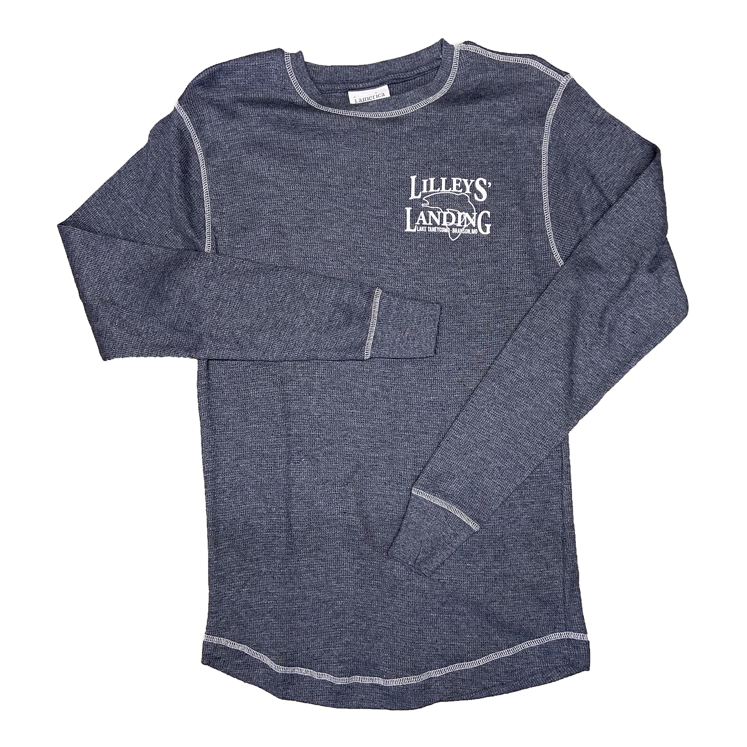 Long Sleeve Thermal – Charcoal
