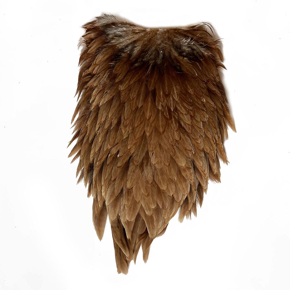 Metz Hen Saddle – Ginger/Brown