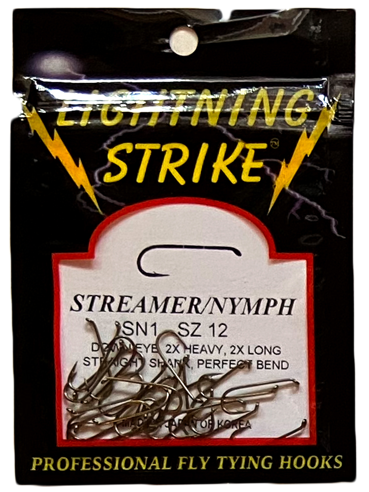 Lightning Strike – Streamer/Nymph SN1 25ct.