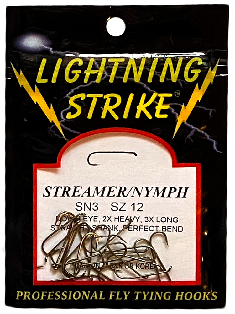 Lightning Strike – Streamer/Nymph SN3 25ct.