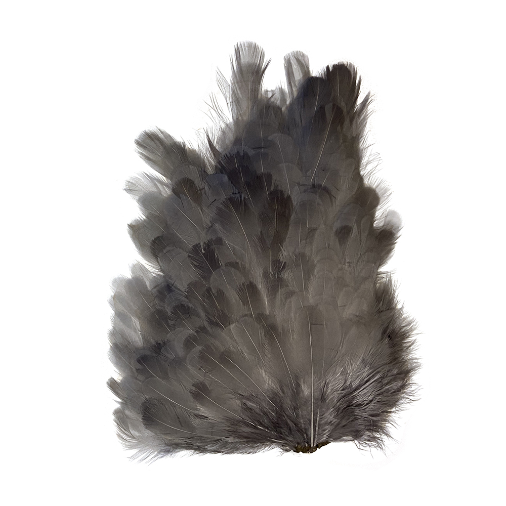 Soft Hackle Hen Saddle Patches – Dun