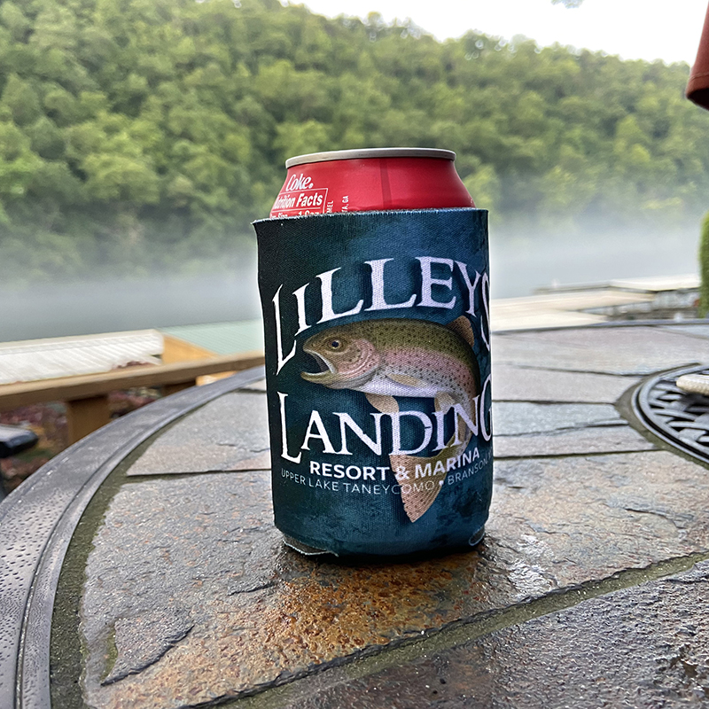 Lilleys' Landing Koozie