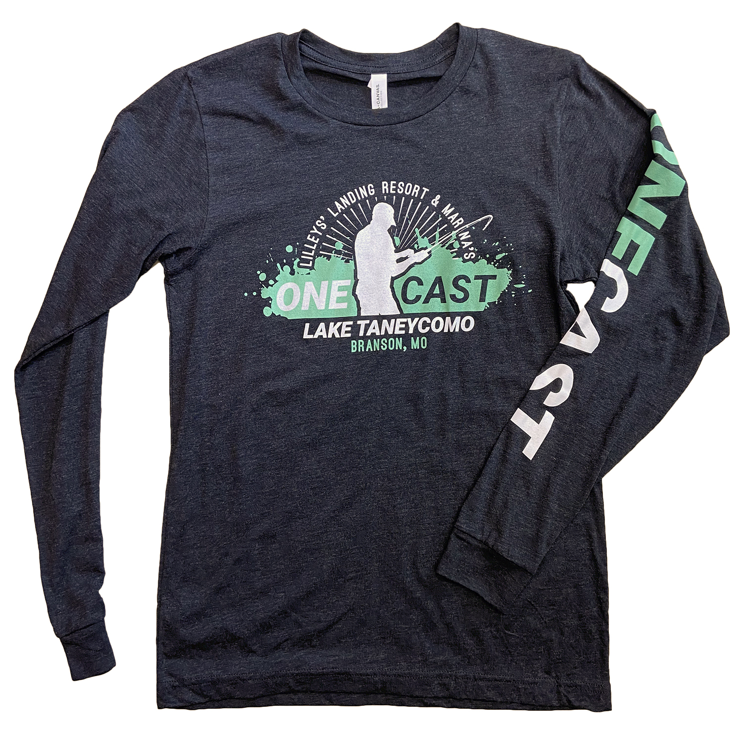 One Cast – Long Sleeve – Charcoal