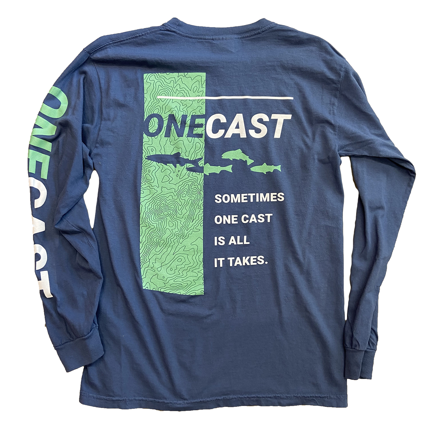 One Cast – Long Sleeve – Midnight