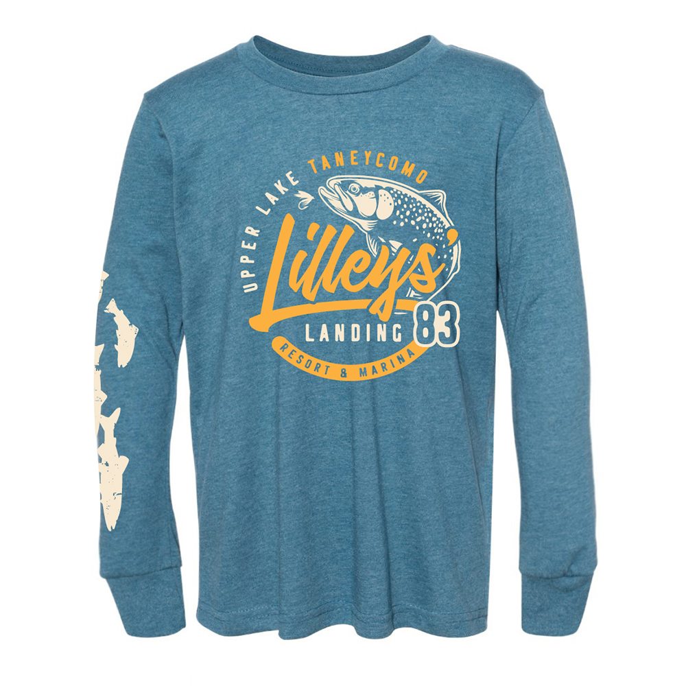 Lilleys' Youth Long Sleeve – Heather Teal