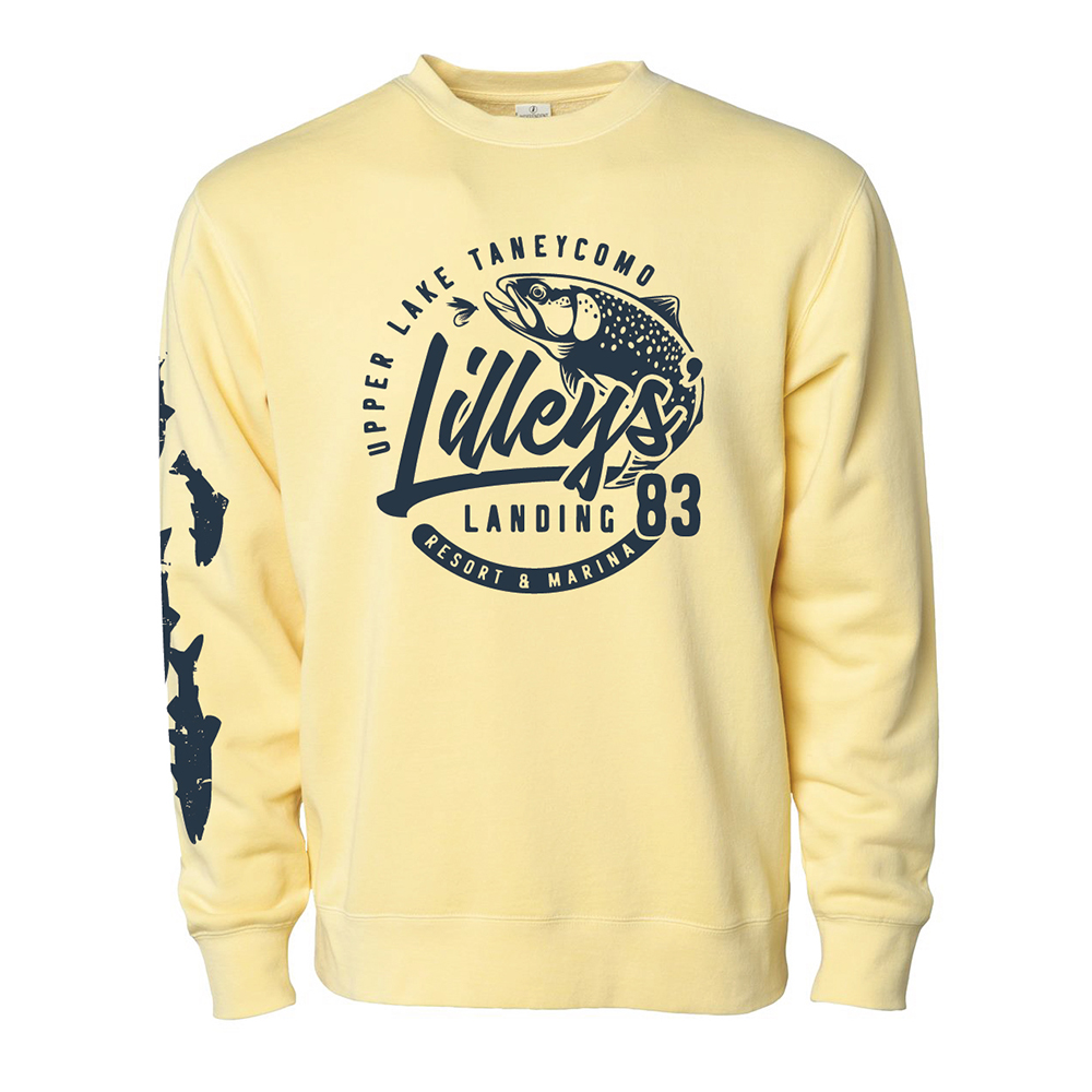 Crewneck Sweatshirt – Yellow