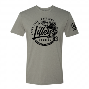 Trout Circle Tee - Stone Gray