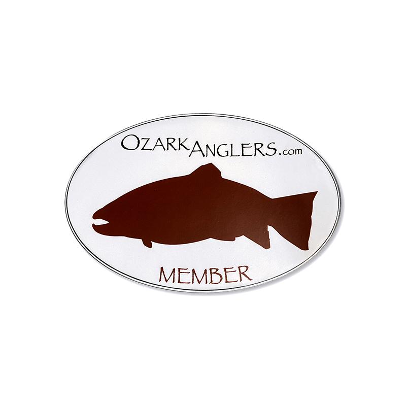 Ozark Anglers Member Sticker