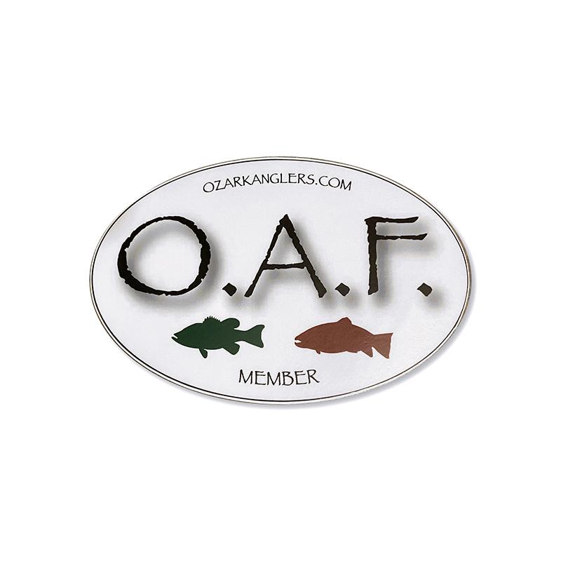 Ozark Anglers Federation Sticker