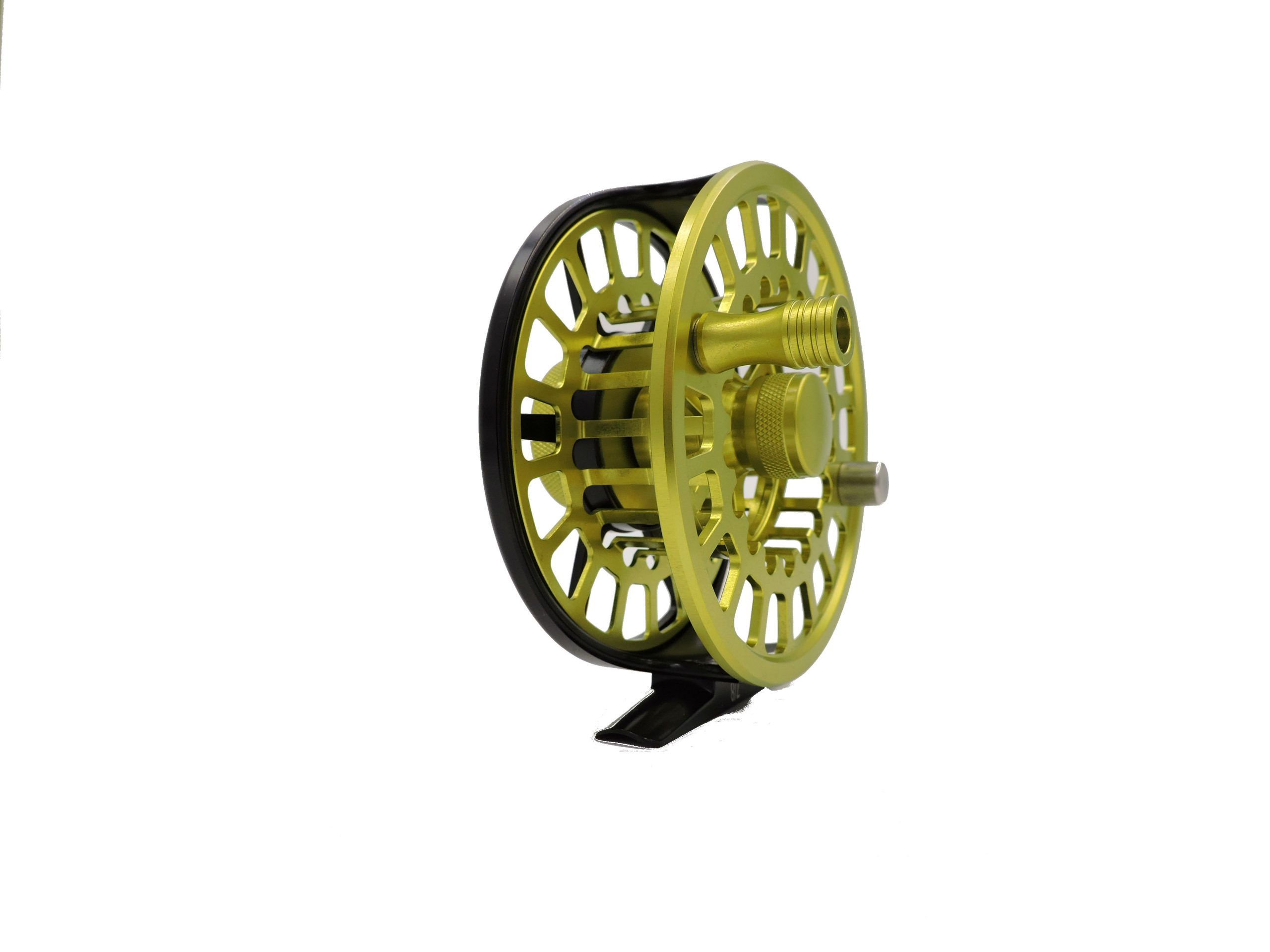 Rudder Fly Reel – Black & Green