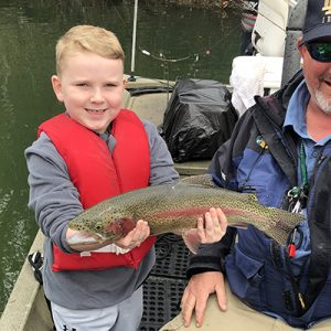 Brodie Lane rainbow trout