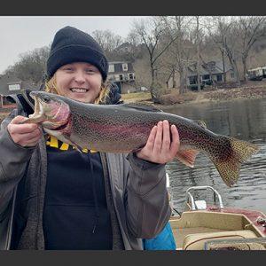 Mackenzie Pate rainbow trout