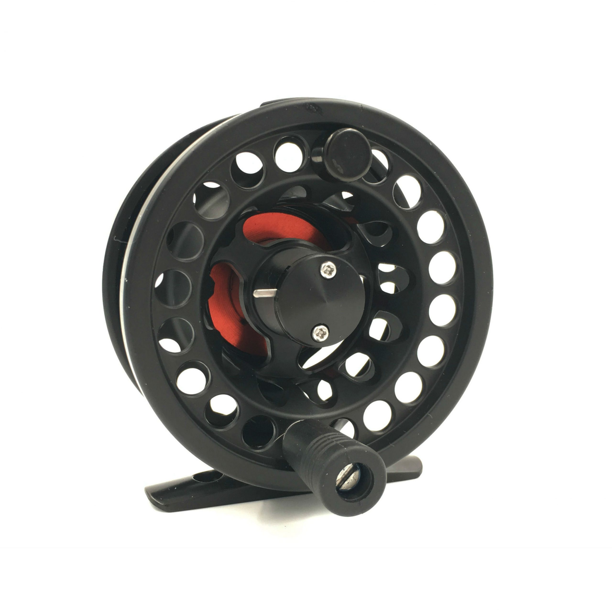 Rudder Fly Reel – Black & Red