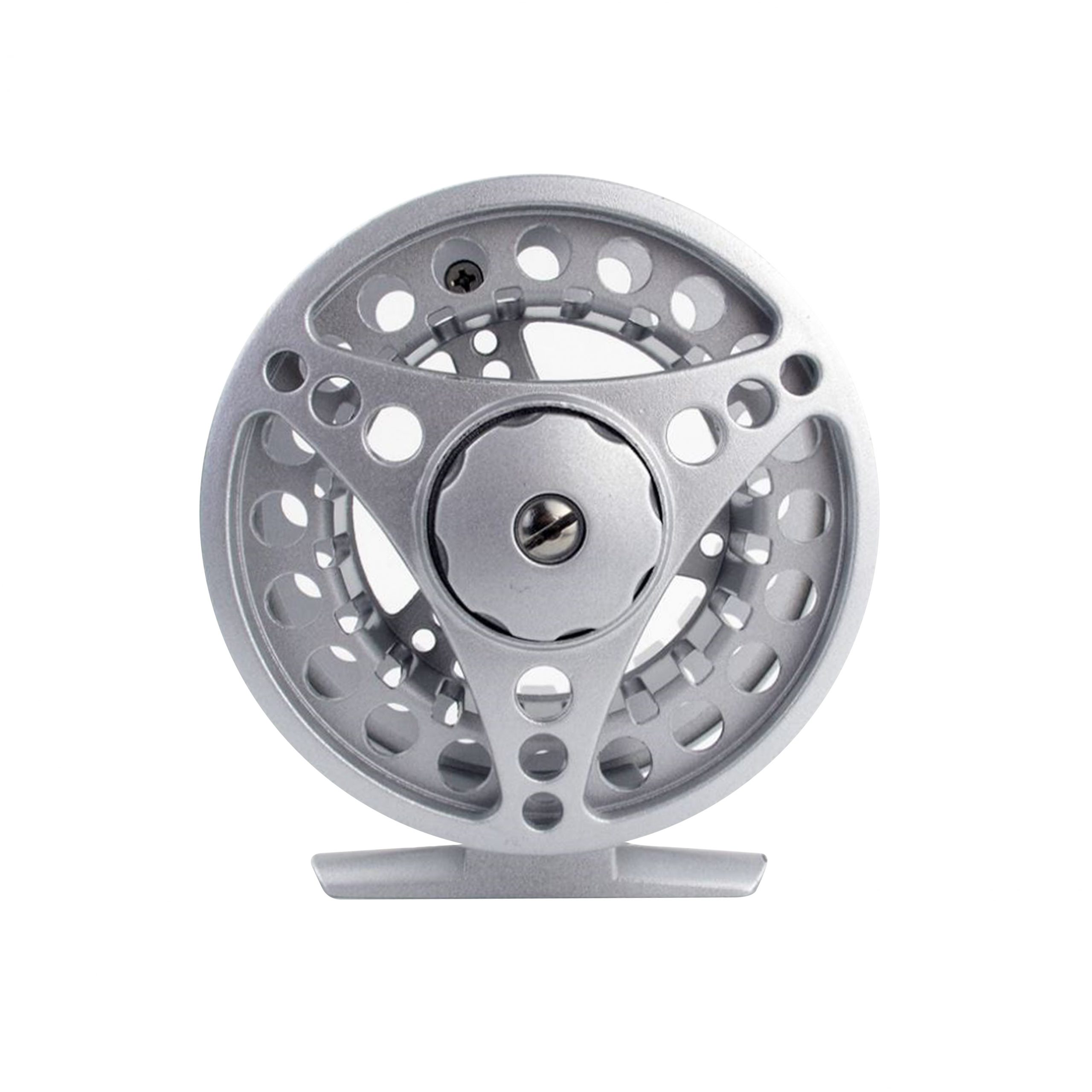 Rudder Fly Reel – Silver